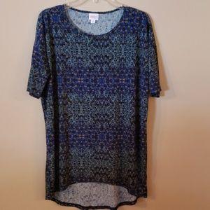 LuLa Roe short sleeve blouse xs